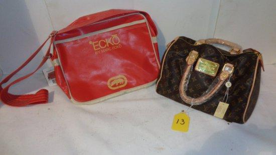 (2) purses