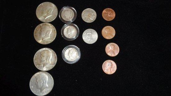 Quarters,Dimes,Nickels, Pennies