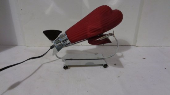 Red Airplane Lamp