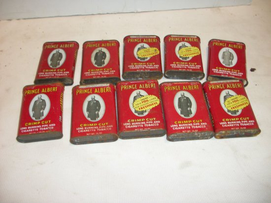 (10) Prince Albert Cans