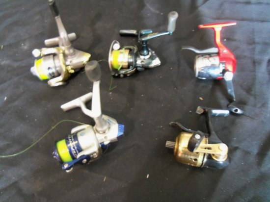 (5) MISC. FISHING REELS
