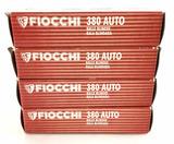 200 Rds. Fiocchi 380 Auto Ammunition