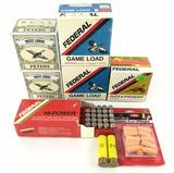 75 Rds. 20 Gauge, 50 Rds. 12 Gauge Shotgun Shells,