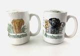 (2) Remington Coffee Mugs W/ Ammunition