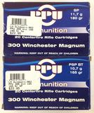 40 Rds. 300 Win Mag Ammunition