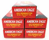 100 Rds. American Eagle 223 Rem Ammunition
