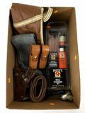 Hoppe's Rifle Cleaning Kit, Rifle Case, Ammo