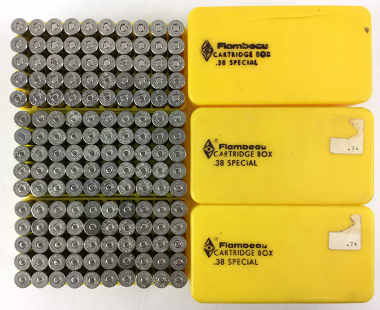 150 Rds. Remington .38 Spl Ammo