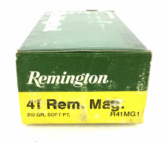 20 Rds. Remington .41 Rem Mag 210 Gr. Ammo