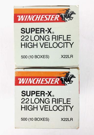 1000 Rds. Winchester Super X .22 Lr Ammo