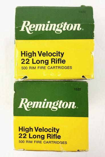 950 Rds. Remington High Velocity .22 Lr Ammo