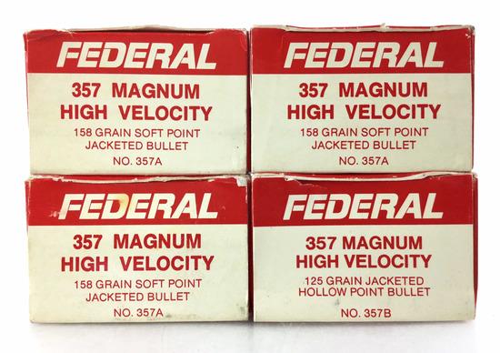 178 Rds. Federal 357 Mag 158 Gr. Ammo