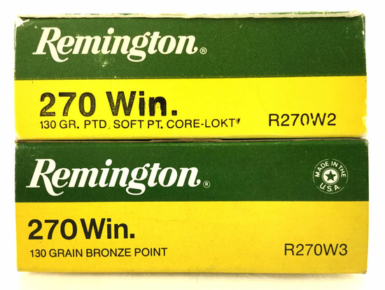 40 Rds. Remington 270 Win 130 Gr. Ammo