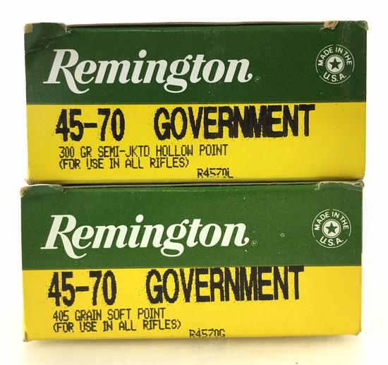 40 Rds. Remington 45-70 Gov Ammo