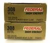 40 Rds. Federal Premium 308 Win 165 Gr. Ammo