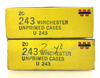 40 Rds. Winchester Western 243 Win Ammo