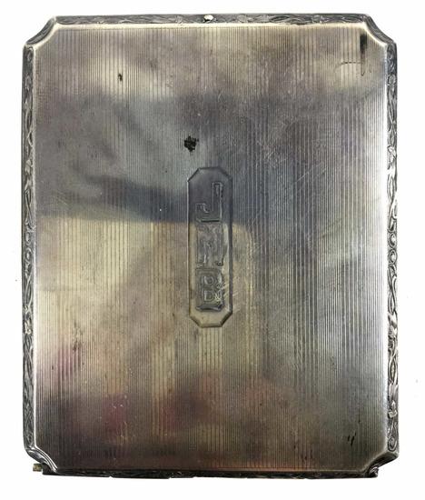 Vintage Elgin Sterling Silver Cigarette Case