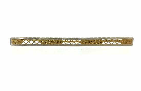Vintage Art Deco 14k Gold Brooch