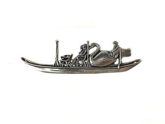 Museum Of Fine Arts Sterling Silver Brooch