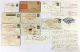 1890-1908 Advertising Envelopes & Letters