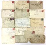 Early 1900s Hand Written Letters & Envelopes