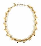Vintage Trifari Gold-tone Fashion Necklace
