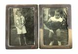 Sterling Silver 2-photo Pocket Frame