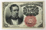 1874 U. S. Fractional Currency 10 Cents New Mint
