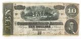 1864 Confederate States Of America Richmond $10