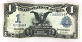 1899 Silver Certificate Black Eagle U. S. $1