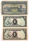 1939 Trinidad & Tobago $1, (2) Japanese
