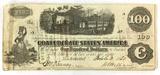 1862 Confederate States Of America Richmond $100