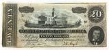1864 Confederate States Of America Richmond $20