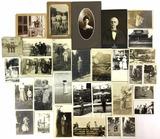 Antique Black & White Photos W/ Families,