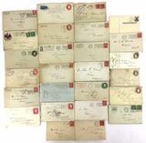 1902-1918 Letters & Envelopes W/ Pse & Stamps