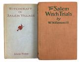 (2) 1920s Salem Witch Trials Books
