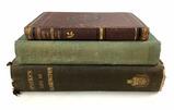 (3) Antique Books