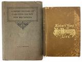 (2) Antique Books
