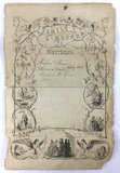 1821-1866 Family Record Marriages & Births