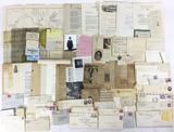Vintage Ephemera, Letters, Envelopes, Newspaper