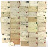Post- Civil War Letters, Envelopes, Stamp Cancels