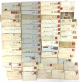 Large Collection 1900s-20s Letters, Envelopes,