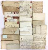 1930s Letter, Envelopes, Stamp Cancels