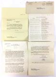 1942 U. S. Navy Letter To Mrs. Jack Barbour