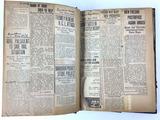 1921 Henry Barbour Political Newspaper Scrapbook