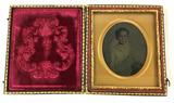 1800s Tinted Tintype Portrait