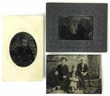 (3) 1800s  Tintype Photos of Children