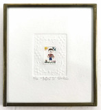 Enrica Signed Miniature Ink Drawing ' Mini Iv'
