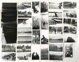 1940s Black & White Photos W/ Jackson Hole,