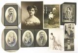 Antique Victorian Era Black & White Photos